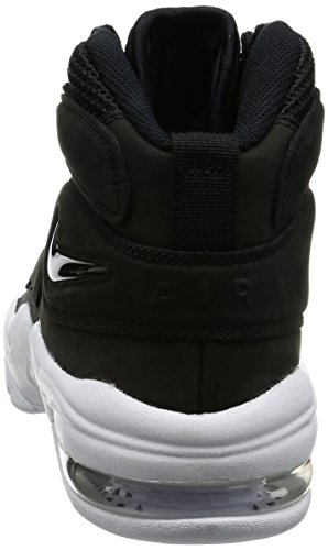 Nike Mænds Air Max 2 Uptempo Qs, Sort / Sort-hvid Sort / Sort-hvid