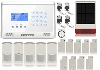 Mapishop - Alarma antirrobo - ModeloAlessia - - Kit de ...