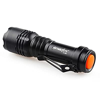 Flashlight Torch Lamp LED Super Bright 5000LM CREE Q5 AA/14500 3 Modes Zoomable