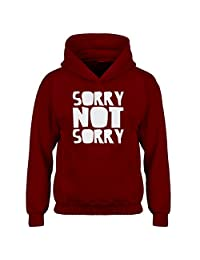 Indica Plateau Sorry, Not Sorry. Kids Hoodie