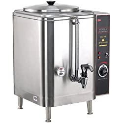 Grindmaster-Cecilware ME10EN 120-volt/1pH Electric Water Boiler, 10-Gallon, Stainless Steel