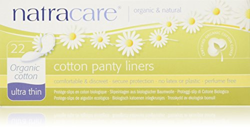 Natracare Organic Cotton Natural Panty Liners Ultra Thin 22 Liner(s)