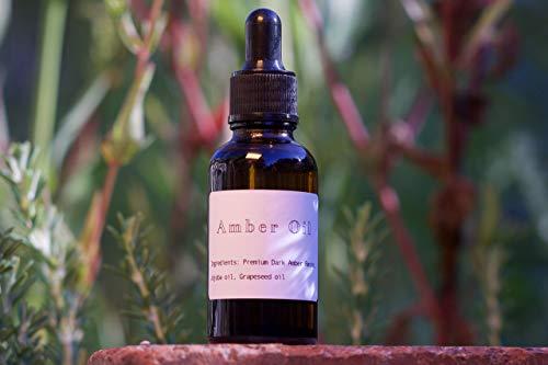 (Premium Dark Amber Oil with Jojoba and Grapeseed oil)