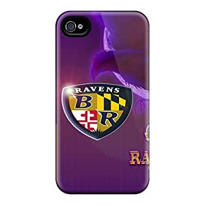 Shock-Absorbing Hard Cell-phone Case For Iphone 6 (TkO16782RCJH) Unique Design High-definition Baltimore Ravens Image
