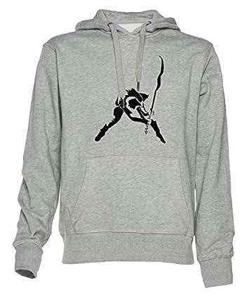 los Choque - Londres Vocación - los Choque Unisexo Sudadera con Capucha Hombre Mujer Pullover Jersey Tamaño XXL Unisex Men Women Hoodie Sweatshirt Grey Size ...