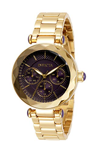 Invicta Women's Angel Quartz Watch with Stainless Steel Strap, Gold, 16 (Model:...