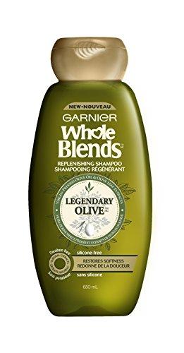 Garnier Whole Blends Replenishing Shampoo, Legendary Olive 2