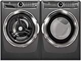 Electrolux Titanium Front Load Laundry Pair with EFLS627UTT 27' Washer and EFME627UTT 27' Electric Dryer