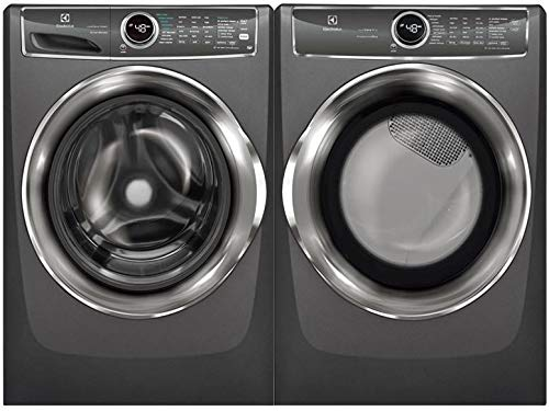 Electrolux Titanium Front Load Laundry Pair with EFLS627UTT 27 Washer and EFME627UTT 27 Electric Dryer ()