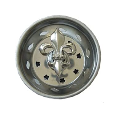 FLEUR DE LIS Kitchen Sink Strainer plug stopper FRENCH