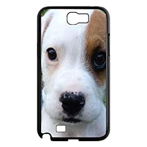 Samsung Galaxy N2 7100 Cell Phone Case Black Basset Hound F8227713