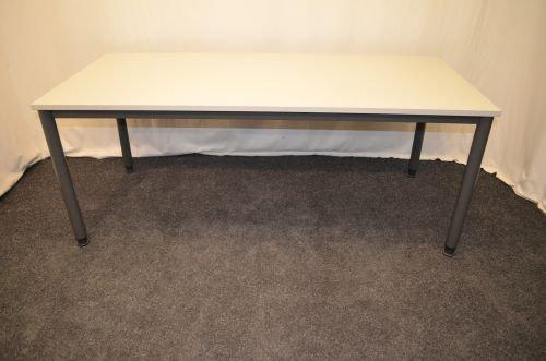 Mesa de escritorio, 180 x 80 cm, colour de la placa de, patas de ...