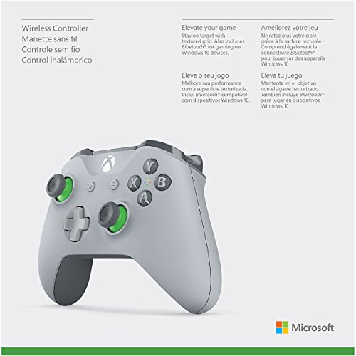 41Rpd1Y1ZVL - Xbox Wireless Controller - Grey/Green