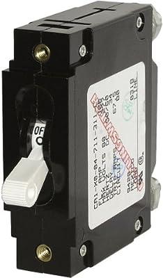 Blue Sea Systems C-Series Single Pole Toggle Circuit Breakers