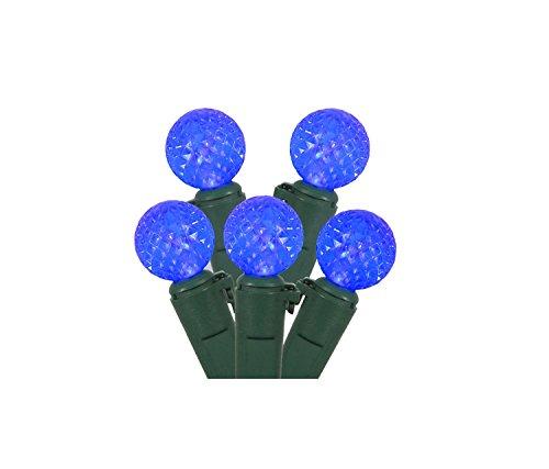 Strings Light G12 Led (Set of 50 Blue LED G12 Berry Christmas Lights 4