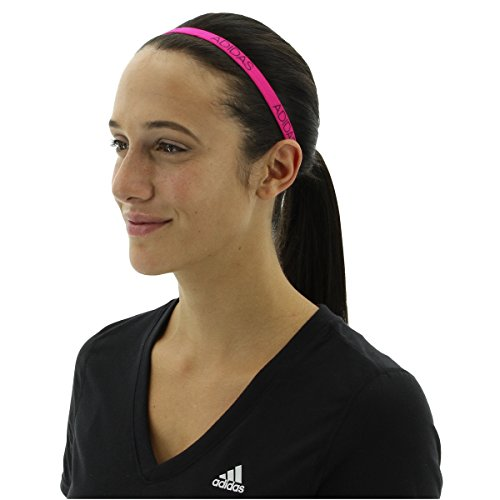 adidas Womens 5pk Creator Hairband, Grey/White/Black/Shock Pink, One Size