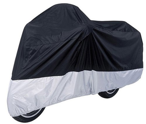 Honda Silverwing 600 Scooter VLX / Black Sliver Motorcycle Cover XL ()
