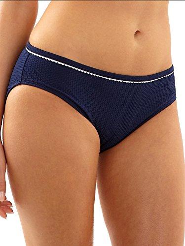 Getaway Bottom (Panache Women's Anya Voyage Classic Bikini Bottom, Navy, M)