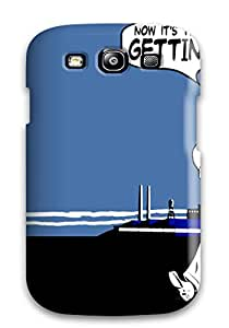 Galaxy S3 Case Slim [ultra Fit] Vintage Dude Going Home Protective Case Cover