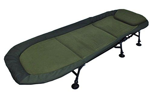 AMENITIES DEPOT Memory Foam 6-Leg Foldable Camping Single Bedchair Cot(202030D)