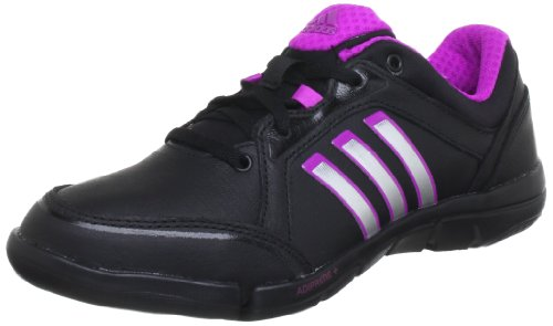 adidas a.t. Mardea Q22566, Damen Tanzschuhe, Schwarz (Black 1 / Metallic Silver / Vivid Pink S13), EU 42 2/3 (UK 8.5)