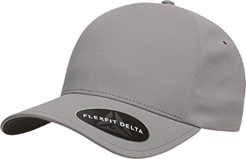 Sun 180 Caps (Flexfit - Delta Seamless Cap - 180-L/XL-Silver)