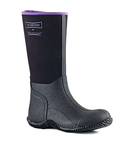 Boots black Ovation Mudster purple Barn Black Ladies Tall gqRqxwI