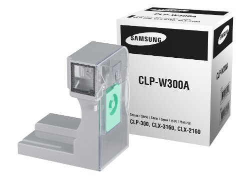 Samsung CLP-W300A Waste Container 5K, Color 1.25K Yield for CLP-300, CLP-300N, CLX-2160N, CLX-3160N, CLX-3160FN - Black - Original Waste Cartridge