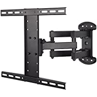 Mounting Dream MD2381 TV Wall Mount Bracket for most of 26-55 Inch LED, LCD, OLED and Plasma Flat Screen TV with Full Motion Swivel Articulating Dual Arms up to VESA 400x400mm and 99 LBS with Tilting