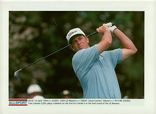 Tom Lehman Memorabilia - Vintage photo of Tom Lehman