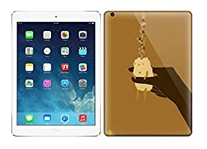 Best Power(TM) Hard Back Cover Skin Cases for ipad air, Unique Design of Art Print A Gentle Puff Plastic Case, SnapOn, Protector