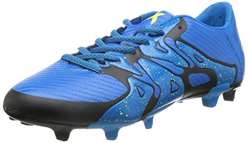 adidas X 15.3 FG/AG - Fútbol/Talla/C - Colour Negro, Color, Talla 42 2/3 - SOLBLU/SYELLO/CBLACK