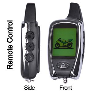 2-Way LCD Pager Motorcycle Bike Remote Engine Starter Security Alarm Control Kit