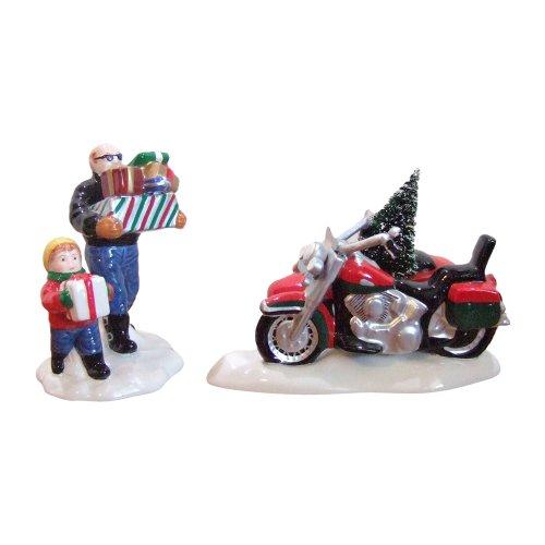(Dept 56 Snow Village A Harley-Davidson Holiday)