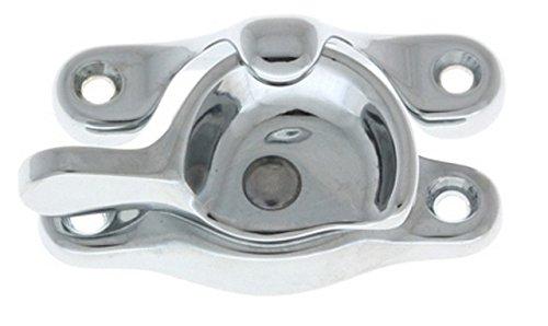 Heavy Duty Brass Sash Lock - Standard Size In Polished Chrome