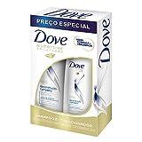 Dove Kit Shampoo e Condicionador Sh400Ml+Co200Ml Reconstrução Completa