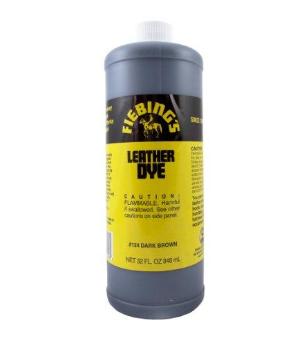 UPC 700175602190, Fiebing's Leather Dye - 32 Ounces, Dark Brown