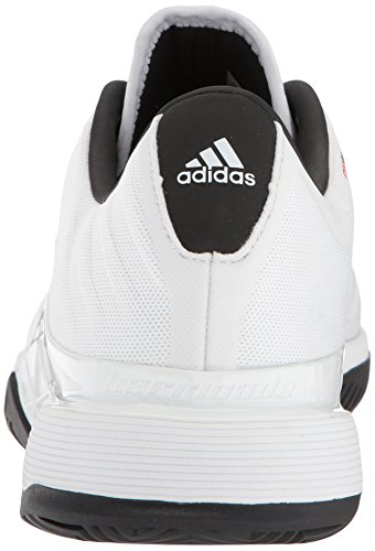 adidas Men's Barricade 2018 Tennis Shoe White/Black/Matte Silver clearance from china shopping online free shipping footlocker pictures cheap online IncQZ