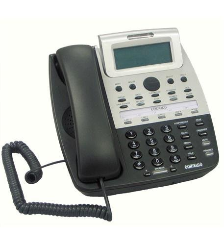 Cortelco 4-line Expandable Telephone with Built-in Voice Message System (ITT-2750)