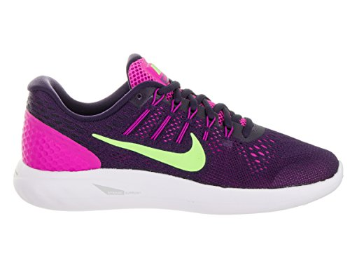 US 5 8 Lunarglide Shoe Women 6 pink Fire Nike Green Running Ghost Women's vAxTgqEw7