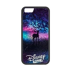 iPhone6s Plus 5.5 inch Phone Case Black Bambi ESTY7852460