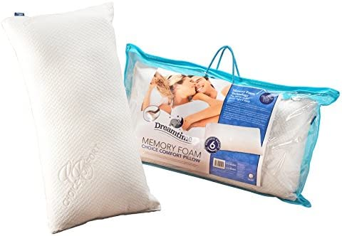 The 'comfort pillow' with a sunken