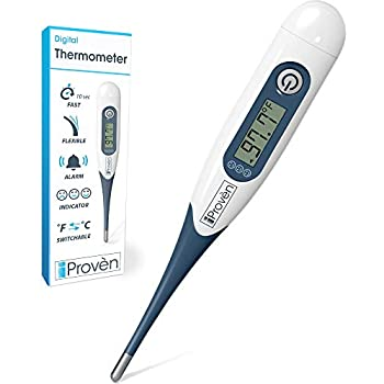 Best Digital Medical Thermometer (Baby and Adult Termometro), Accurate and Fast Readings - Oral and Rectal Thermometer for Children Babies - DT-R1221AWG ...