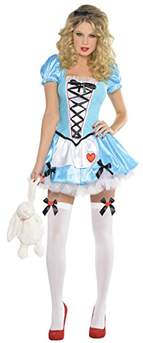 [Womens Wonderful Alice Costume Size Small (2-4)] (Womens Halloween Ideas)