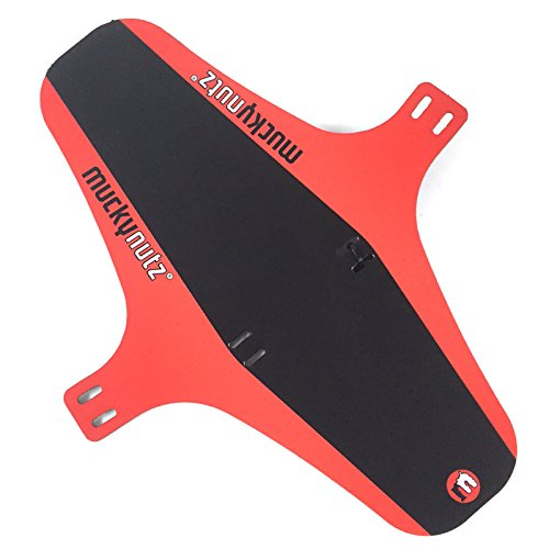 Mucky Nutz Face Fender, Black/Red, X-Large ()