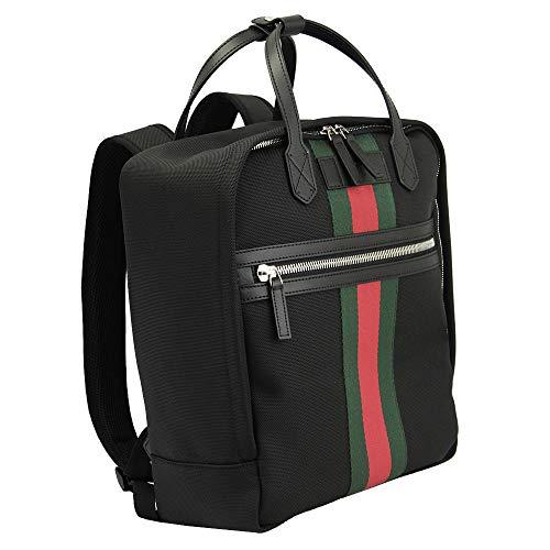 Gucci Shelly Black Nylon Backpack 495558