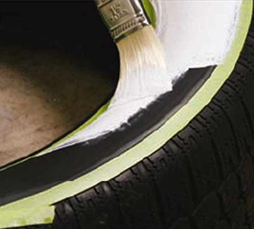 Anvil White Wall Tire Paint - 250ml
