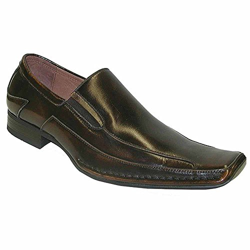 Giorgio Brutini 15904 Mens Slip-On With Side Gore,Brown,10.5W (Side Gore Leather)