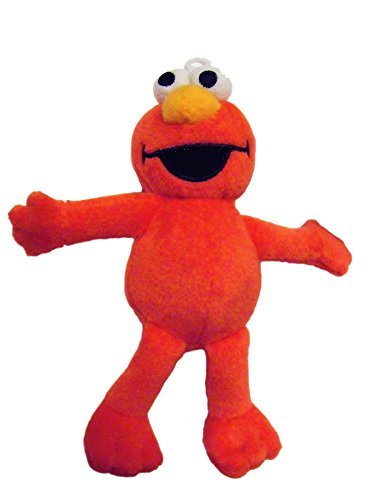 Sesame Street The Muppets Elmo 6.5 Inch Plush Character Soft Red