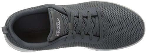 15601 Walking Joy Shoe Go Women's Charcoal Skechers AwqZvFtxF